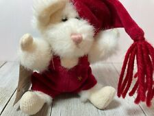 New ListingBoyds Bears Squeek Mcsnoozle Mouse #56180-02 Plush 5.5 Christmas Ornament Nwt