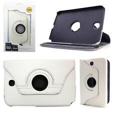 """% Astuccio Per Tablet Custodia Protezione Case Cover Samsung Galaxy Tab 2 7"""" p3110 Bianco"""