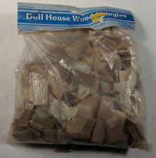 300 vintage Artply doll house wood shingles