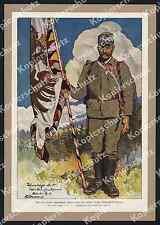Bouvard banderas vigas estandarte 3. tirolés emperador cazador-RGT Trento mattarello 1917