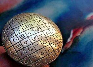 XL Shaman Monk Magic Circle Divination Protection Mantra Incantation Ring,Silver