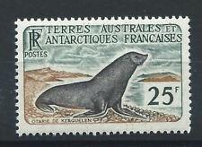 "T.A.A.F N°16* (MH) 1959/63 - Faune ""Otarie de Kerguelen"""