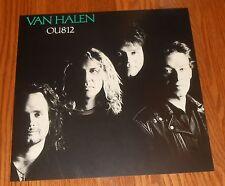 Van Halen Ou812 Poster 2-Sided Flat Square 1988 Promo 12x12