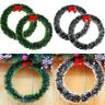 Christmas Pine Snow Garland Wreath Xmas Hanging Ornaments Home Party Decoration