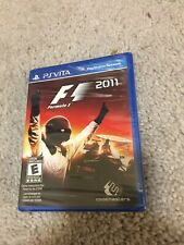 F1 2011- Formula One Sony PlayStation Vita - PSV - *Factory Sealed! *Free Ship!