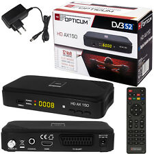 Dvb-s2 ax150 PVR FULL HD TV Digital Sat receiver opticum HDMI USB Easy find