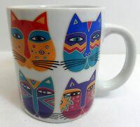 Laurel Burch Fantastic Felines Coffee Mug Cats 1995 Vintage