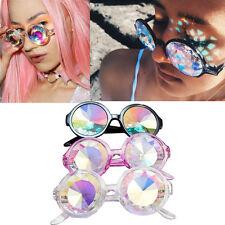 Kaleidoscope Glasses Rave Dance EDM Sunglasses Diffracted Rainbow Festival Lens