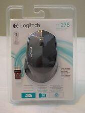 * NEW * Logitech Wireless Mouse M275 w/ Nano Receiver - BLACK (910-004525) WOW