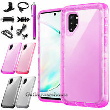 For Samsung Galaxy Note 10/Note10+ Plus Transparent Protective Phone Case Cover