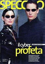 Specchio.Matrix, Keanu Reeves & Carrie-Anne Moss,iii