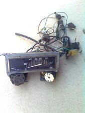 Renault R4 Tacho Kombiinstrument + Lenkstockschalter + Kabel + 6 Schalter