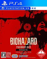 USED Biohazard 7 Resident Evil Grotesque Ver PlayStation 4 SONY PS4 PLAYSTATION