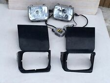 JDM TOYOTA SUPRA JZA70 MK3 AFTER MARKET HID HEAD LIGHTS WITH COVERS OEM