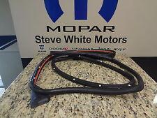 07-11 Dodge Nitro New Front Door Weatherstrip Mounted Left Mopar Factory Oem