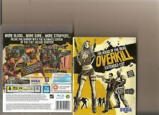 HOUSE OF THE DEAD OVERKILL EXTENDED CUT PLAYSTATION 3 PS3 PS 3 RATED 18