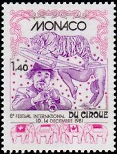 "MONACO N° 1298 ""CIRQUE, COMPOSITION""NEUF xxTTB"