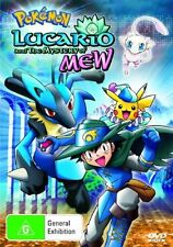 Pokemon - Lucario & The Mystery of Mew : Movie 8 (DVD, 2006)-REGION 4-free post