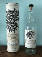 GAME OF THRONES House STARK Collectible Tube & Bottle Scotch Whisky Dalwhinnie