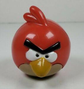 "Bakery Crafts Angry Birds Red Bird 1.5"" Tall PVC Figure 2011 Rovio"