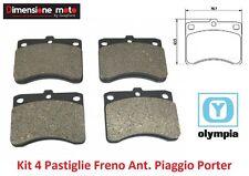 Kit 4 Pastiglie Freno Ant. Olympia per Piaggio Ape Porter 1300 16V GPL dal 1998