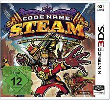 Nombre de código: s.t.e.a.m./Steam Nintendo 3ds & 2ds nuevo & OVP | de, EN, FR, ES, IT