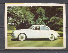 Jaguar 2.4/3.4 Mk II 1962 Vintage Dutch Trading Card No. 121