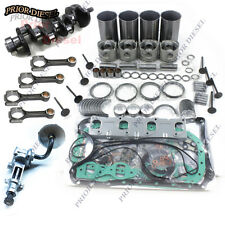 Isuzu 4JB1 Overhaul Kit&Crankshaft&Oil Pump&Connect Rods For Mustang Bobcat