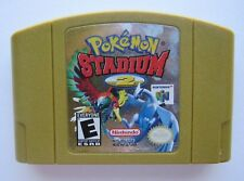 Pokemon Stadium 2 Nintendo 64 OEM Authentic N64 Gold Video Game Cart Rare GOOD!