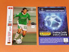 TORSTEN FRINGS WERDER BREMEN FOOTBALL CARDS PANINI CHAMPIONS LEAGUE 2007-2008