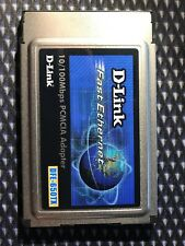 D-link Fast Ethernet PCMCIA Adapter Cardbus 10/100Mbps DFE-650TXD