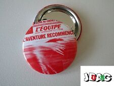 BADGE BUTTON PIN L'EQUIPE SPORT EDITION LIMITEE 3 CM