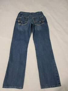Ariat M5 Slim Straight Denim Blue Jeans Mens Actual Size 32 X 33 - M6931