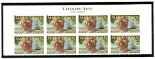 US  4545  Mark Twain - Forever Top Header Block of 8 - MNH - 2011
