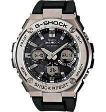 Casio Men G-Shock Stainless Stel Touch Solar Ana/Digital Metal Watch GSTS110-1A