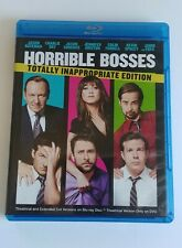 Horrible Bosses (Blu-ray/DVD, 2011, 3-Disc)Totally Inappropriate Excellent Look!