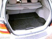 3pc modular rubber boot liner load mat bumper protector Kia Sorento 2002 - 2009
