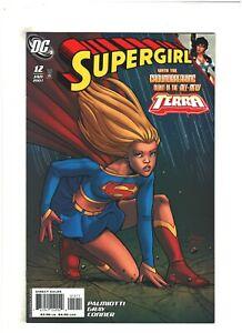 Supergirl #12 VF/NM 9.0 DC Comics 2007 Amanda Conner, 1st All-New Terra app.