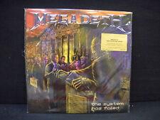 Megadeth – The System Has Failed ' LP MINT & SEALED ORANGE LIMITED Nº 390