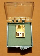 Burns International Security Services Lapel Pin / Tie Tack