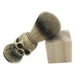 Beard Brush Skull Head Shape Badger Hair Man Shaving Brushes Makeup Men's Tools