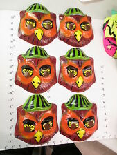 halloween mask 1960s Austin Art (1) Woodsy OWL green black hat cartoon