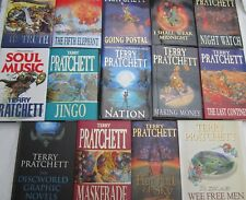 TERRY PRATCHETT - 14 OF HIS BESTSELLERS IN H/B EDITION -DISCWORLD STORIES