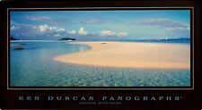 KEN DUNCAN DAYDREAM ISLAND, WHITSUNDAYS PANOGRAPH PRINT UNFRAMED