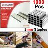 Heavy Duty 8mm 1000pc Pcs Staples Staple Gun Tacker Pack Upholstery For Stapler