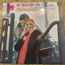 Various – Stereo 99 Volume Three [Lp] Jazz, Easy Listening, Test played