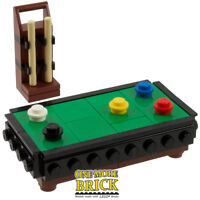 LEGO Pool Snooker Billiards Table - Minifig scale - NEW pieces