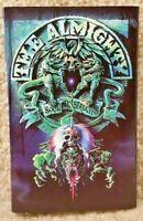 Vintage 1991 Cassette Tape The Almighty Soul Destruction Polygram Records