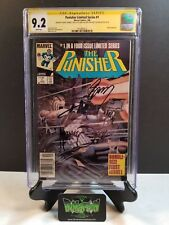 PUNISHER LIMITED SERIES #1 CGC SS 9.2 4X SIGNED STAN LEE ZECK GERRY CONWAY POTTS