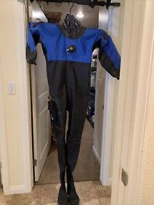 Andy's Drysuit Medium Suit + Large Boot Excellent Shape Scuba Dive Gear VG++